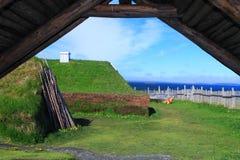 Viking bosättning Arkivbilder