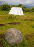 Viking camp Stock Images
