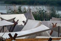 Viking camp Royalty Free Stock Photos