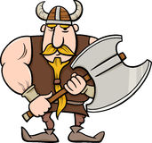 Viking cartoon illustration Royalty Free Stock Images