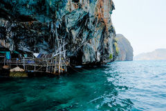 Viking Cave, Krabi thailand Stock Photo