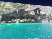 Viking Cave Phi Phi Islands Fotografia Stock