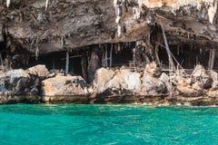 Viking cave Stock Image