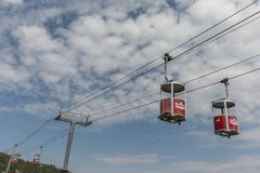 Viking chairlift Zdjęcie Royalty Free