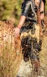 Viking Character femminile immagine stock libera da diritti