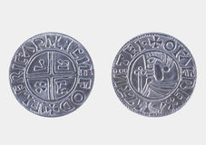 Viking coin Stock Photography