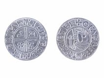 Viking coin Stock Images
