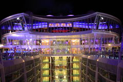 Viking Crown bar, Oasis of the Seas royalty free stock images