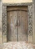 Viking dörr Royaltyfri Foto