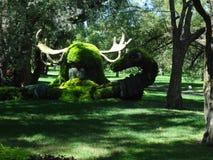 Viking in der Natur Botanischer Garten von Montreal Kanada stockfotos
