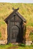Viking Door Photographie stock libre de droits
