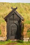 Viking Door royalty free stock photography