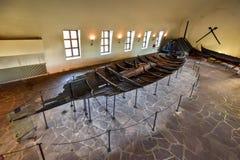 Viking Drakkar i Oslo< Norge royaltyfri fotografi