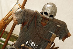 Viking dress Stock Photography