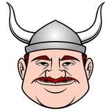 Viking Dude royaltyfri illustrationer