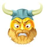 Viking Emoji Emoticon royalty ilustracja