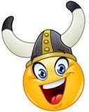 Viking emoticon Royalty Free Stock Photography
