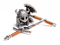 Viking equipment Royalty Free Stock Images