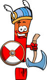 Viking exclamation mark with axe Royalty Free Stock Image