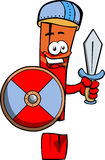 Viking exclamation mark with sword Royalty Free Stock Photo