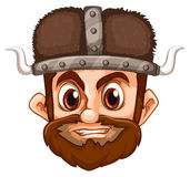 Viking face Royalty Free Stock Images