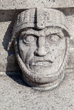 Viking Face Stockholm Sweden Lizenzfreie Stockbilder