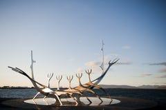 Viking fartyg Royaltyfri Foto