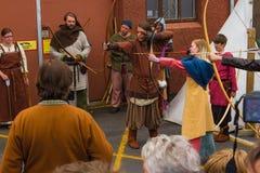 Viking Festival 2014 Arkivfoton
