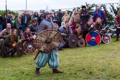 Viking Festival 2014 Fotografering för Bildbyråer