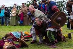 Viking Festival 2014 Royaltyfri Foto