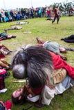Viking Festival 2014 Royaltyfri Fotografi