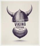 Viking Festival royalty illustrazione gratis