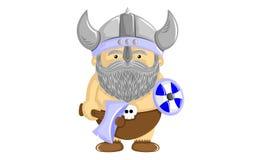 Funny viking royalty free illustration