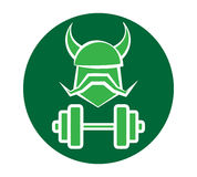 Viking Fitness Logo Design Photos libres de droits