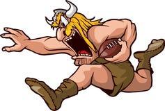 Viking fonctionnant Photographie stock libre de droits