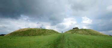 Viking Fortification on Foehr Island Royalty Free Stock Images