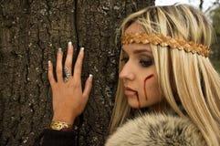 Viking girl Stock Photos