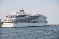 Viking gwiazdy statek wycieczkowy Zdjęcia Stock