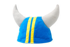 Viking hat, helmet, isolated Royalty Free Stock Photo