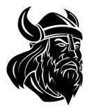 Viking Head Vector Illustration Fotos de archivo libres de regalías