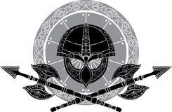 Viking helm Royalty Free Stock Image