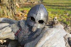 Viking-Helm Lizenzfreie Stockbilder