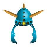 Viking helmet Stock Photo