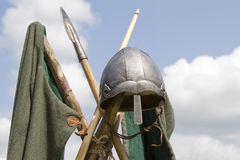 Viking helmet Stock Images