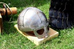 Viking helmet.. Stock Images