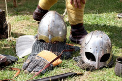 Viking helmet. Stock Images