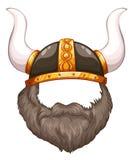 Viking helmet Stock Photography