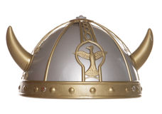 Viking helmet studio cutout Royalty Free Stock Photography