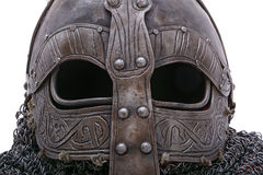 Viking helmet visor Stock Photography