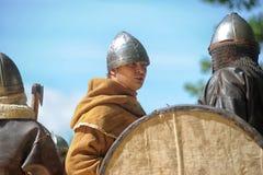 Viking, historical vestival Stock Photos